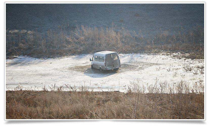 Таинственная «Газель» в карьере на Артёма (фотофакт) (фото) - фото 2