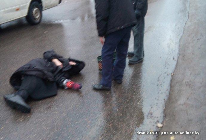 Очевидец: в Витебске водитель маршрутки сбил старушку на пешеходном переходе возле церкви (фото) - фото 2