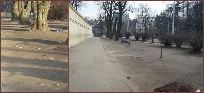 Як львів'яни прибирали площу перед Собором святого Юра після паломників  (ФОТОРЕПОРТАЖ) (фото) - фото 2