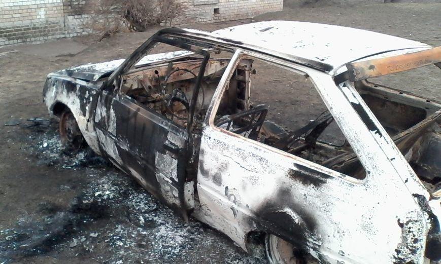 В Днепродзержинске сгорела «Таврия», фото-1