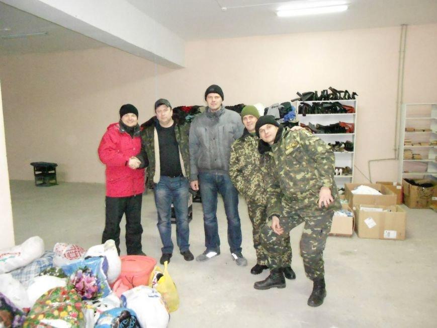 Бойцов 17 танковой в отпуск «подвезли» криворожские волонтеры (ФОТО) (фото) - фото 1