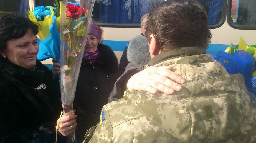 Днепродзержинцы встретили своего героя, фото-6