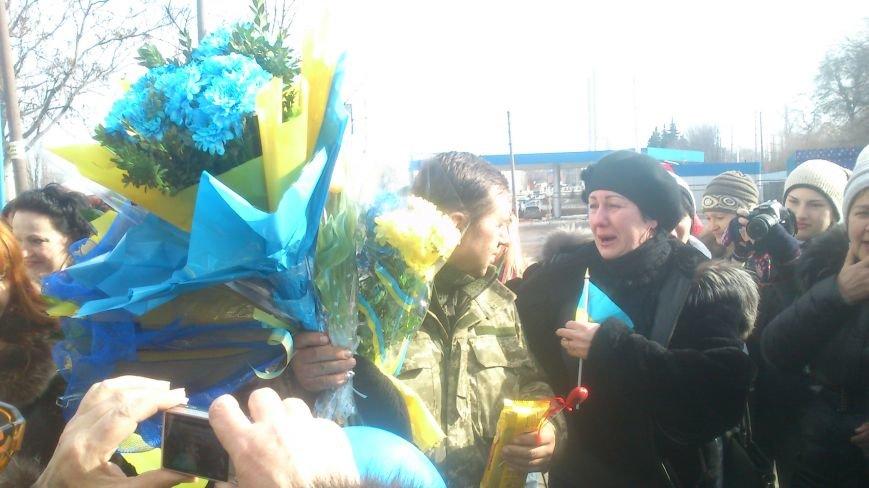 Днепродзержинцы встретили своего героя, фото-4