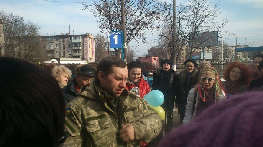 Днепродзержинцы встретили своего героя, фото-2