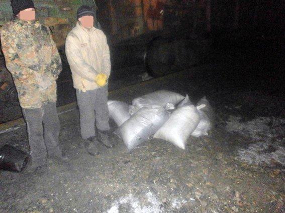 На станции Гродовка пытались украсть 700 кг угля (фото) - фото 3