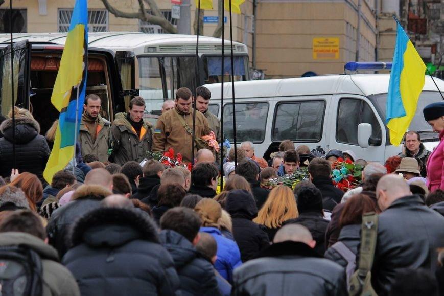 Одесса простилась с бойцами, над которыми поиздевались террористы (ФОТО) (фото) - фото 1