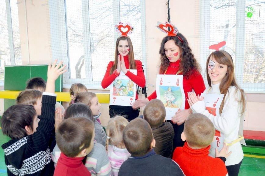 ФОТОРЕПОРТАЖ: В Запорожье волонтеры «AngelS» подарили воспитанникам интерната квест «Алиса чудес» (фото) - фото 5