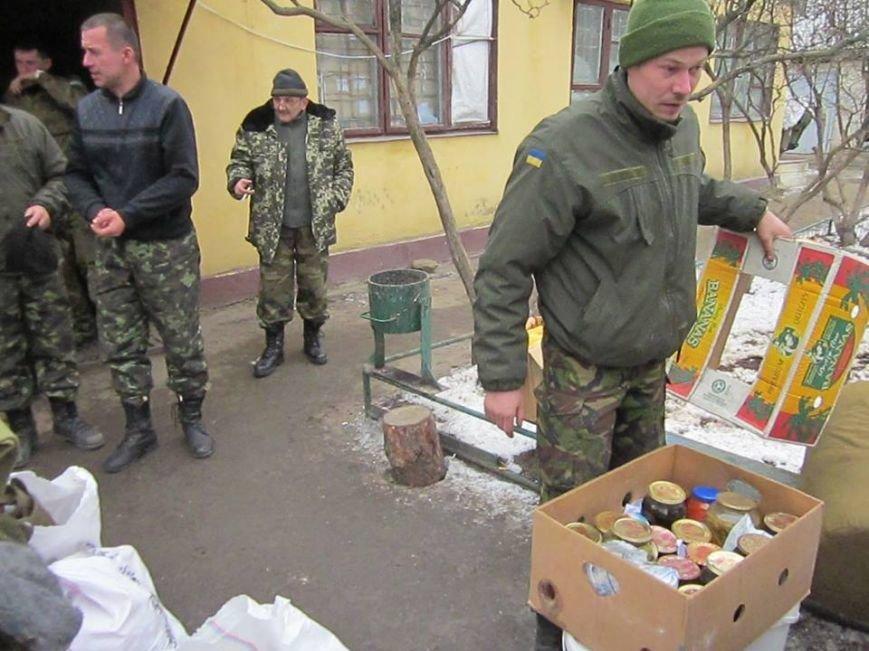 Львівські бійці на передовій отримали торт та салат «Олів'є» від небайдужих людей (ФОТОРЕПОРТАЖ), фото-3