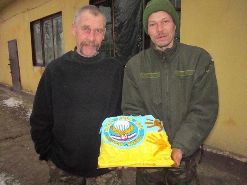Львівські бійці на передовій отримали торт та салат «Олів'є» від небайдужих людей (ФОТОРЕПОРТАЖ), фото-9