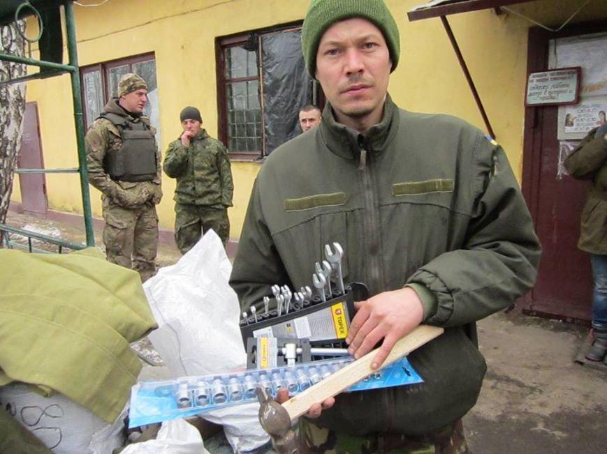 Львівські бійці на передовій отримали торт та салат «Олів'є» від небайдужих людей (ФОТОРЕПОРТАЖ), фото-10