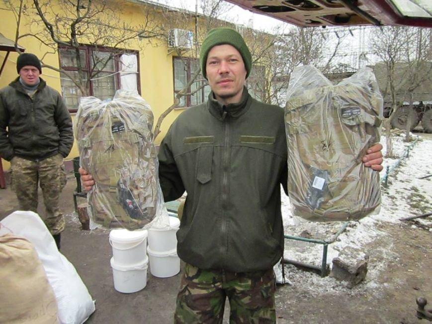 Львівські бійці на передовій отримали торт та салат «Олів'є» від небайдужих людей (ФОТОРЕПОРТАЖ), фото-1