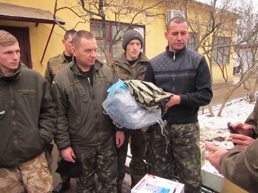 Львівські бійці на передовій отримали торт та салат «Олів'є» від небайдужих людей (ФОТОРЕПОРТАЖ), фото-6