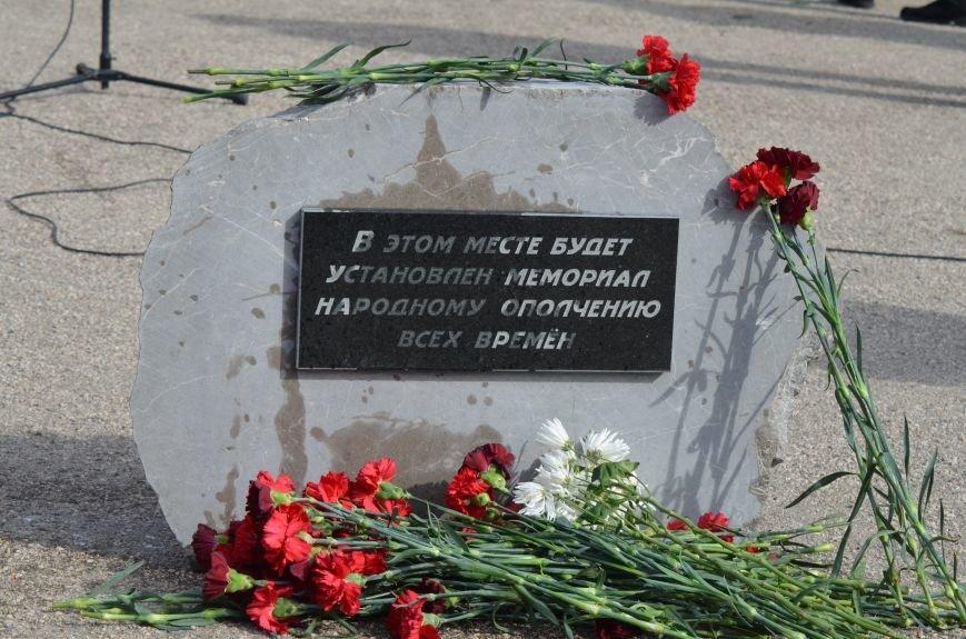 В Симферополе заложили памятный камень на месте памятника ополченцам всех времен (ФОТО), фото-3