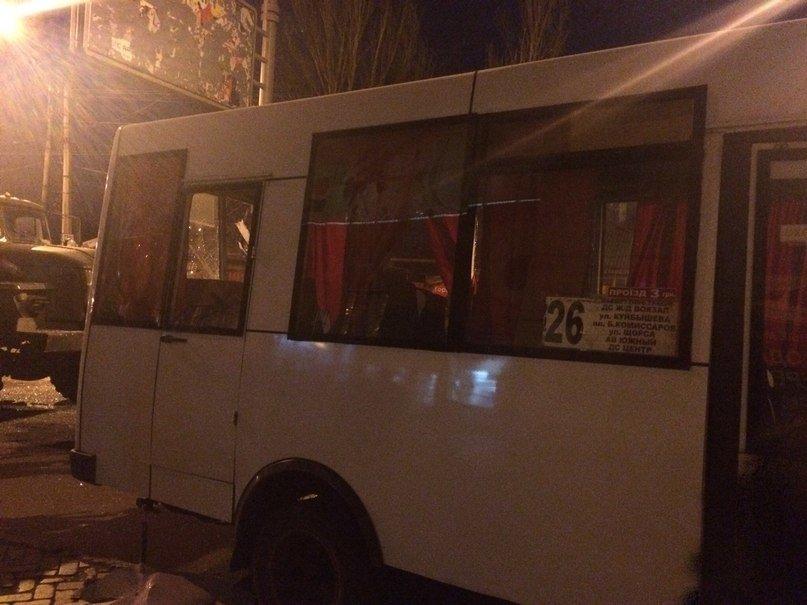 В Донецке военная машина «ДНР» влетела в марштрутку (ФОТО) (фото) - фото 3