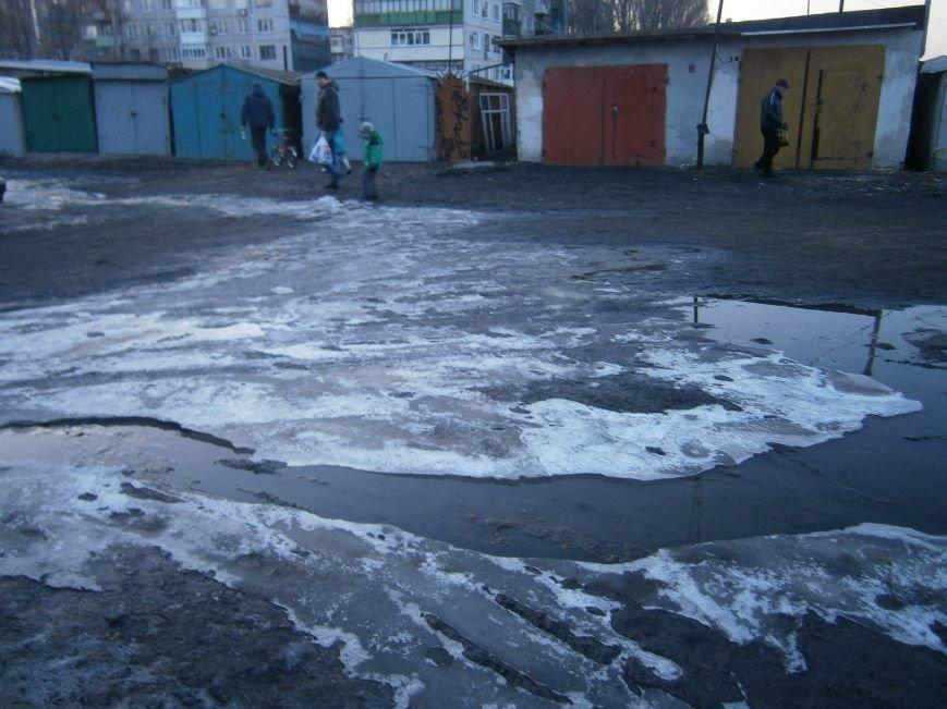 В Димитрове на 5-ый день ликвидирована течь канализации (Фото) (фото) - фото 7