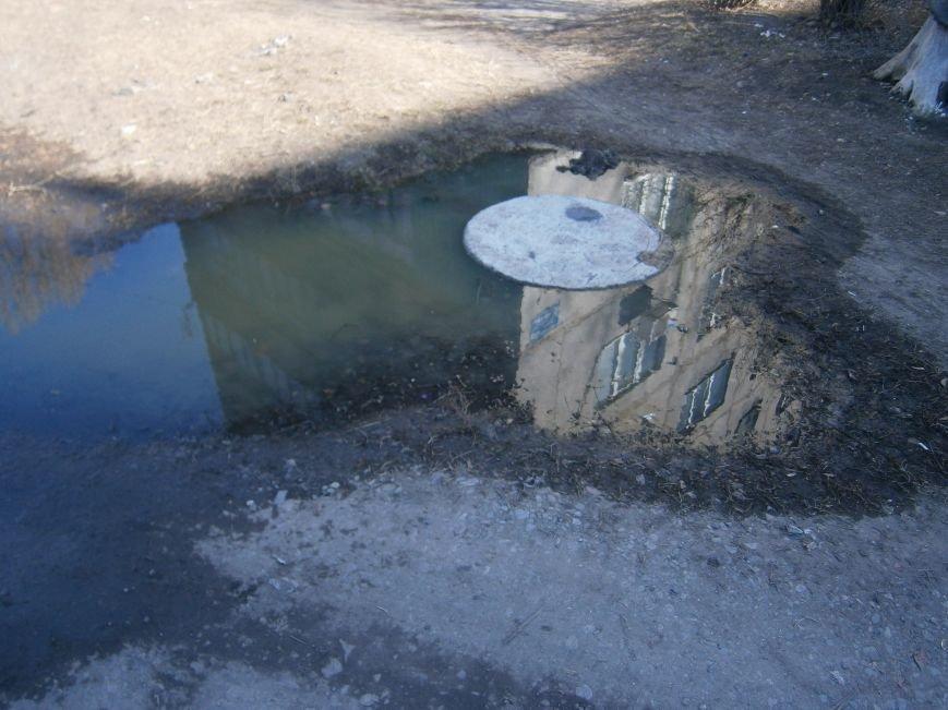 В Димитрове на 5-ый день ликвидирована течь канализации (Фото) (фото) - фото 2