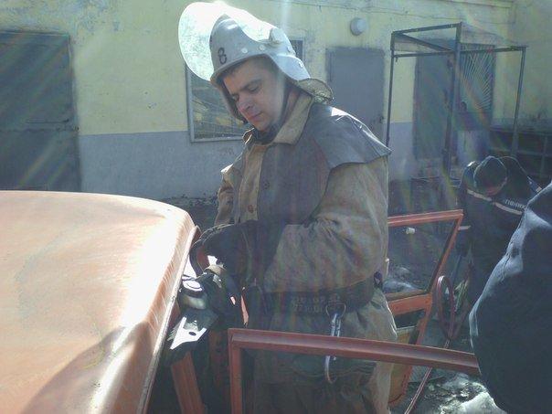 Днепродзержинские спасатели тренировались в ликвидации последствий ДТП, фото-4