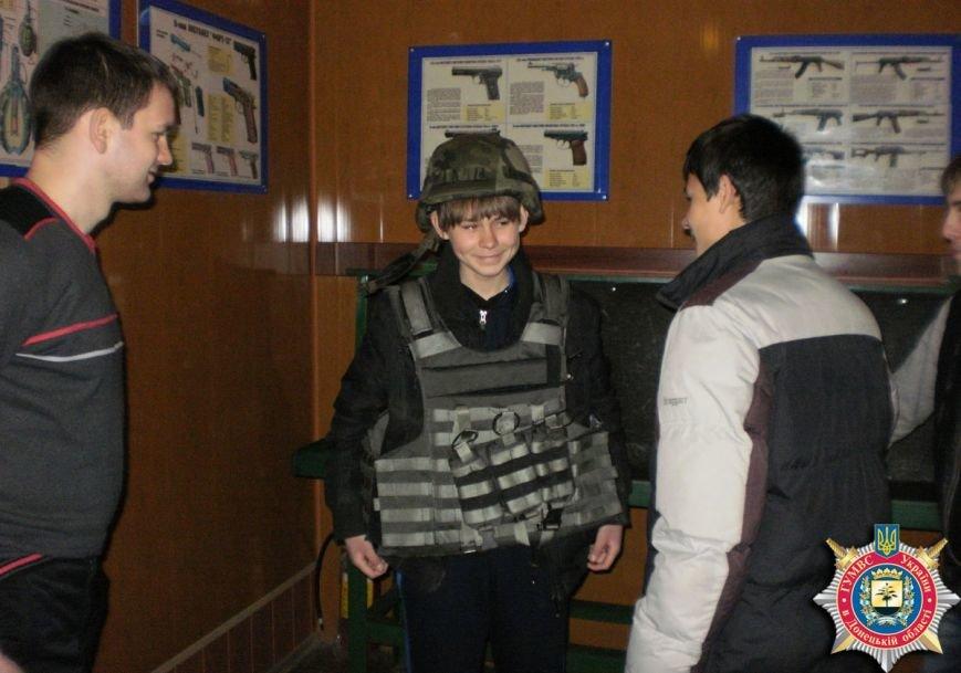 Артемовские старшеклассники узнали, как это – быть милиционерами, фото-2