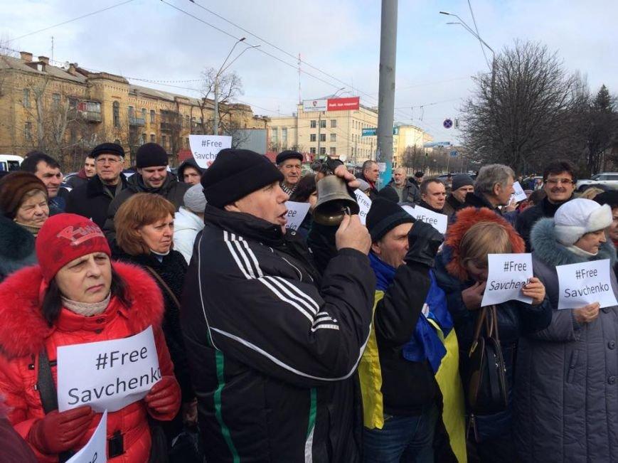 #FreeSavchenko: В Киеве под посольством РФ активисты нарисовали граффити (ФОТО) (фото) - фото 2