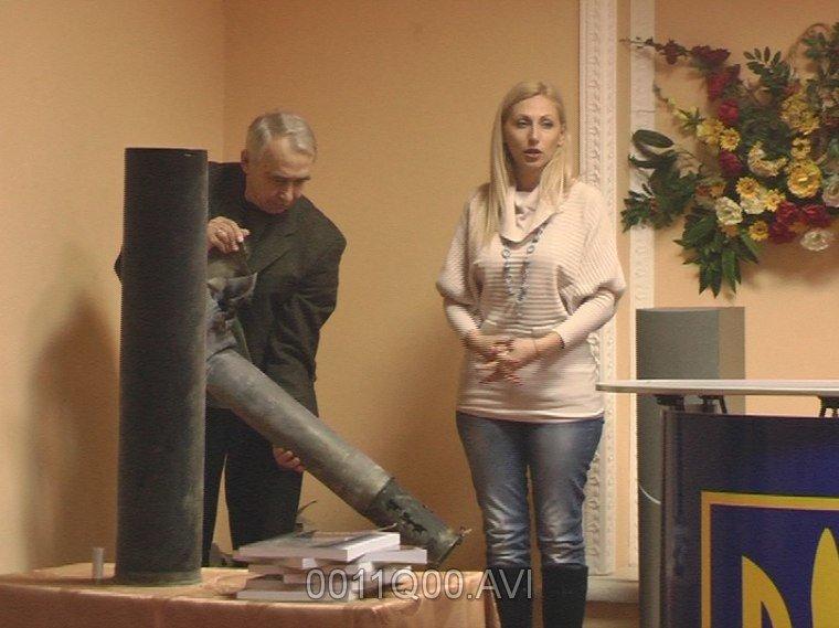 В Запорожье презентовали «Вестник», украшенный боевыми гильзами (ФОТО) (фото) - фото 2