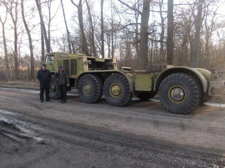 На Львівщині волонтери відремонтували тягач для АТО (ФОТО) (фото) - фото 1