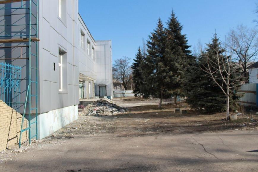 Реконструкцию спортивного комплекса г.Доброполья продолжат в марте (фото) - фото 2