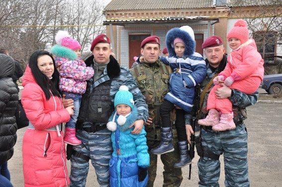 Николаевский спецназ сменил товарищей на «передовой» (ФОТО) (фото) - фото 5