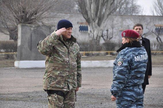 Николаевский спецназ сменил товарищей на «передовой» (ФОТО) (фото) - фото 1