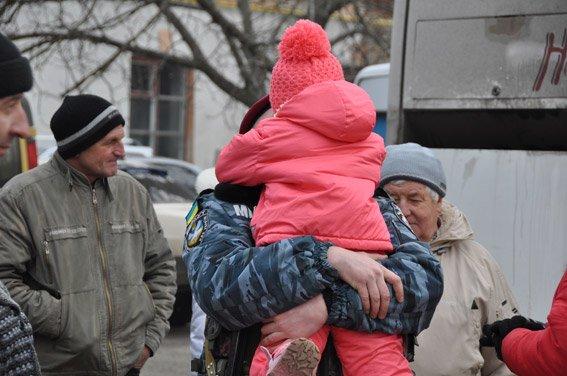 Николаевский спецназ сменил товарищей на «передовой» (ФОТО) (фото) - фото 4