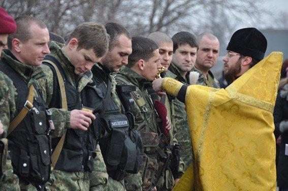 Николаевский спецназ сменил товарищей на «передовой» (ФОТО) (фото) - фото 3