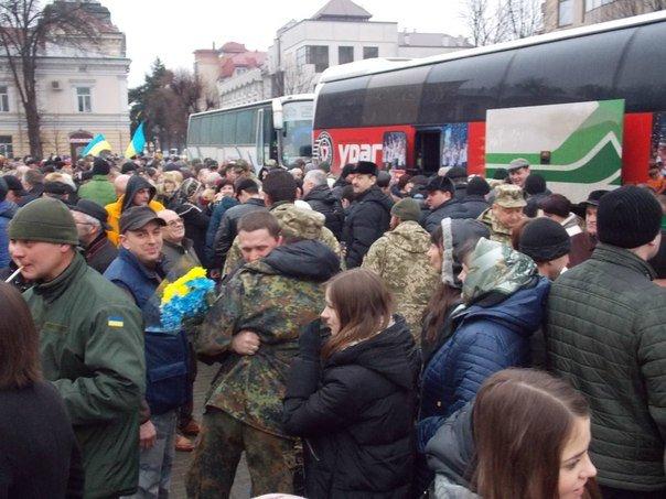 Бійці 128 гірсько-піхотної бригади повернулися додому (ФОТО) (фото) - фото 4