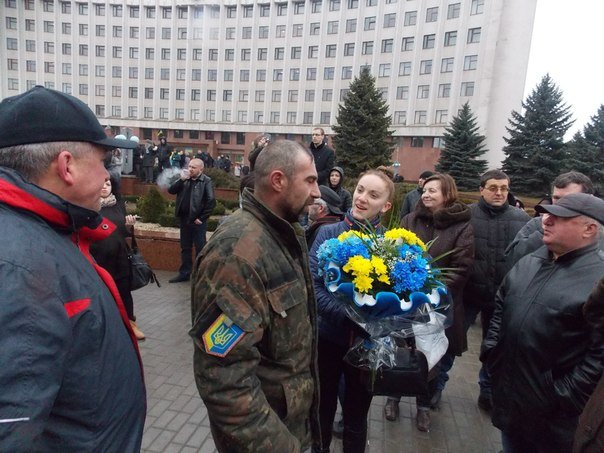 Бійці 128 гірсько-піхотної бригади повернулися додому (ФОТО) (фото) - фото 6