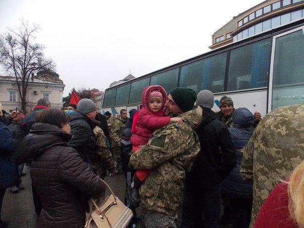 Бійці 128 гірсько-піхотної бригади повернулися додому (ФОТО) (фото) - фото 3