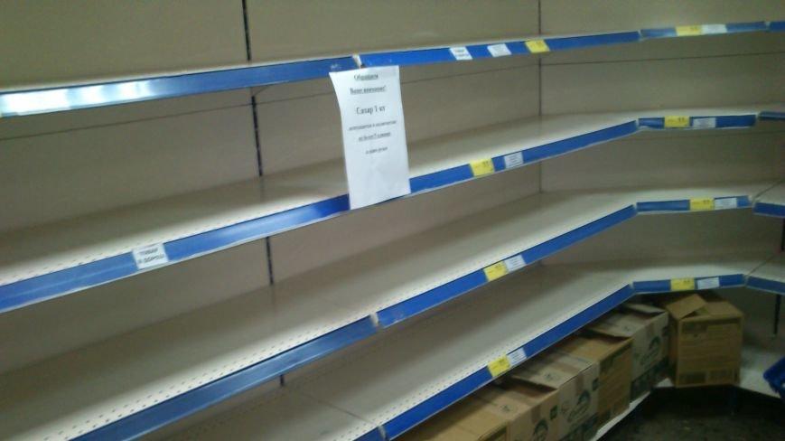 Днепродзержинцы массово скупают продукты питания, фото-3