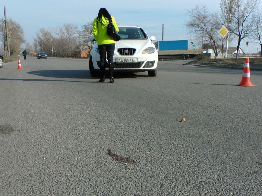 В результате ДТП в Днепропетровске, пострадал пешеход (фото) - фото 1