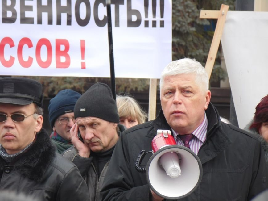 Работникам «Южмаша» снова митинговали. Требовали зарплаты за полгода (ФОТОРЕПОРТАЖ) (фото) - фото 3