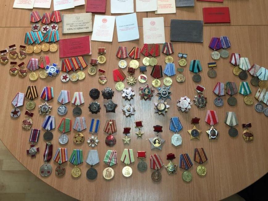 В Днепропетровщине СБУ пресекла попытку контрабандного перемещения коллекции фалеристики, фото-4