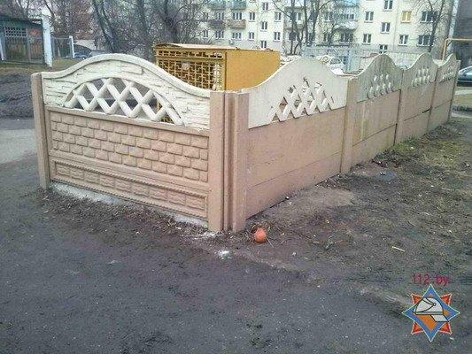 Во дворе по ул. К.Маркса спасатели обнаружили ртуть (Фото), фото-1