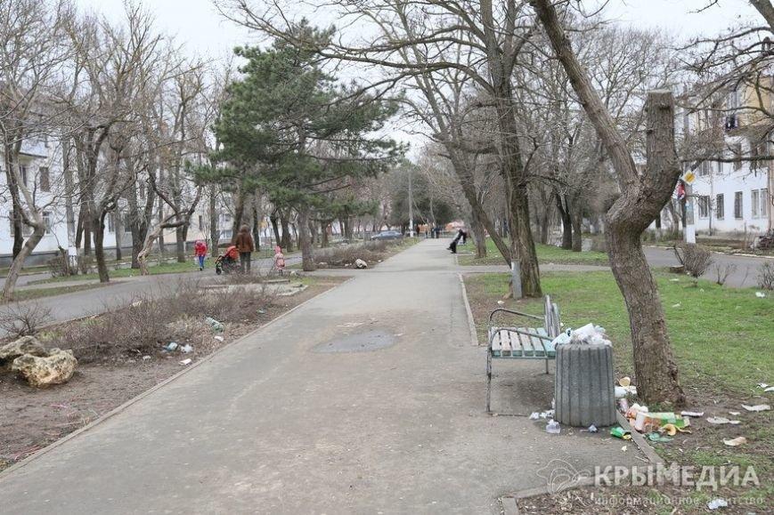 ФОТОФАКТ: Спальные районы и окраины Симферополя утопают в мусоре (фото) - фото 11