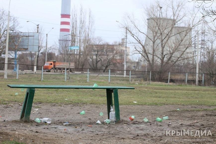 ФОТОФАКТ: Спальные районы и окраины Симферополя утопают в мусоре (фото) - фото 7