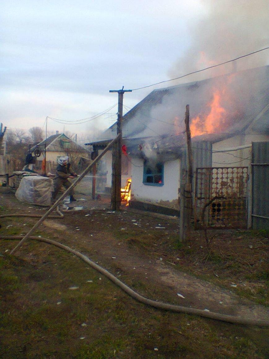 Курильщики Херсонщины опять устроили пожар (фото) - фото 1