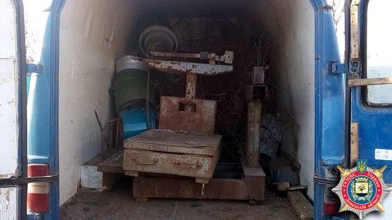 В Доброполье правоохранители выявили еще один нелегальный пункт приема металлолома (фото) - фото 1