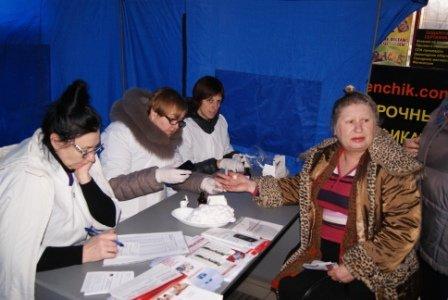 Николаевцев бесплатно проверили на диабет и гипертонию (ФОТО) (фото) - фото 5