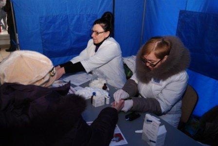 Николаевцев бесплатно проверили на диабет и гипертонию (ФОТО) (фото) - фото 4