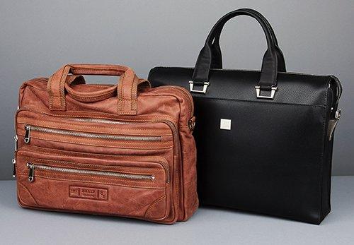 Лучшие кожаные сумки и портфели от известных производителей