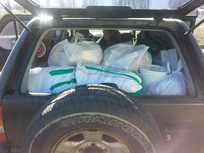 Криворожские волонтеры доставили гуманитарную помощь военным в Авдеевку (фото), фото-1