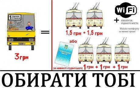 З 1 березня тернополяни закликають бойкотувати маршрутки (фото) - фото 1