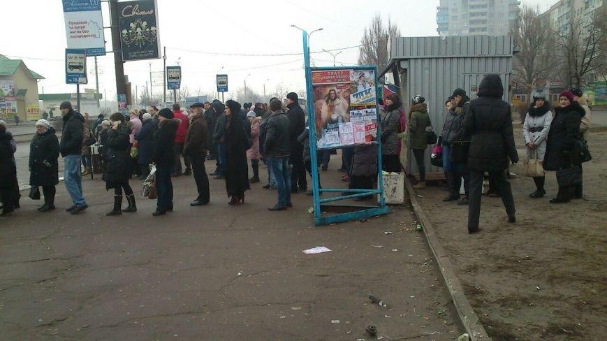 В Днепродзержинске срывают работу общественного транспорта (фото) - фото 1