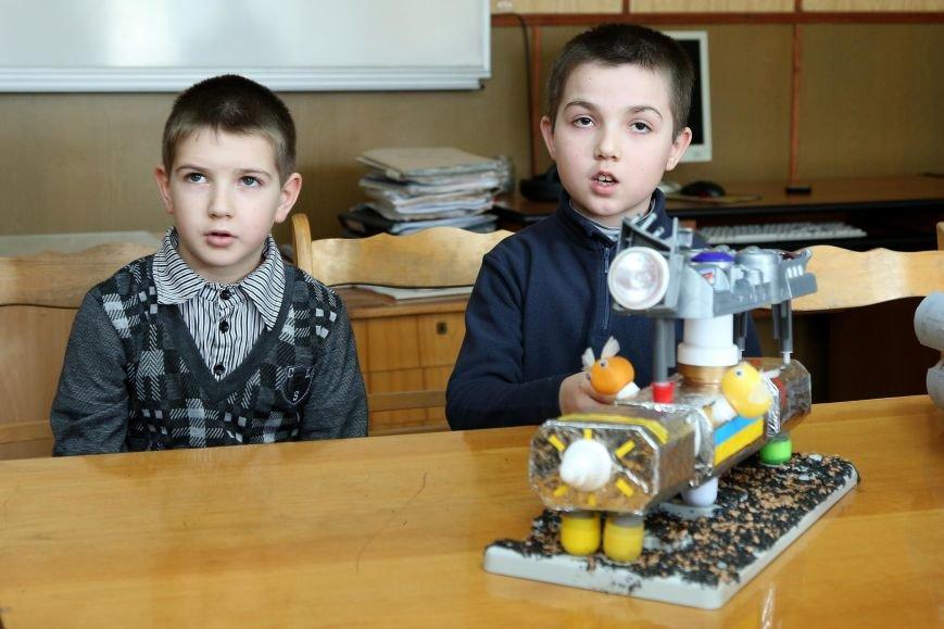 Четвероклассники из Кривого Рога впервые приняли участие в выставке «Мирный космос» (ФОТО), фото-2