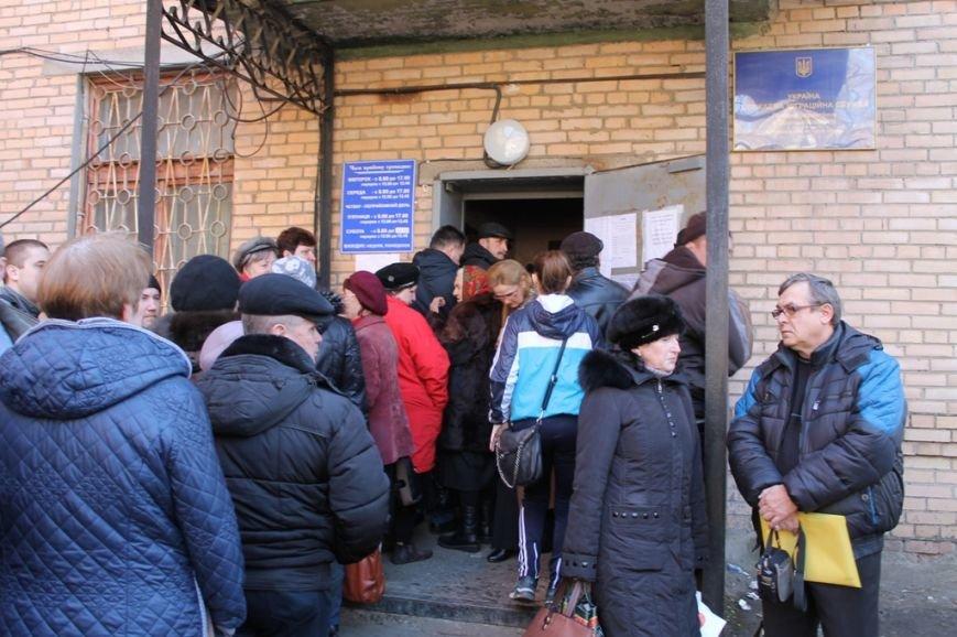 Очередям бой: В Артемовске расширили координационную группу по выдаче пропусков в зону АТО, фото-6